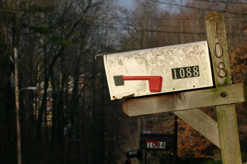 Mailbox at 1088