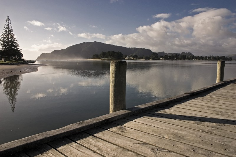 A view from Tairua harbour