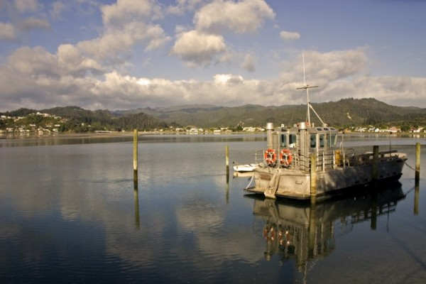 Tairua fishing boat