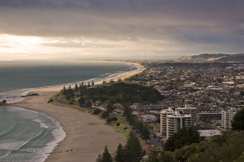 Overlooking Mount Maunganui, Tauranga