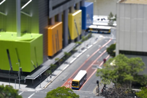Brisbane downtown (miniature view)