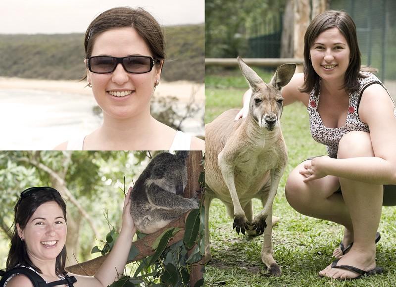 Aurélie in Australia