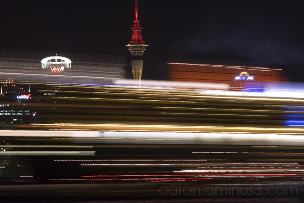 Queen Mary 2 cruising at hyperspeed