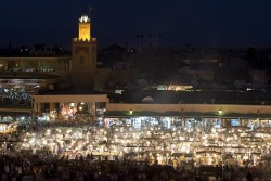 Djemaa el Fna at night
