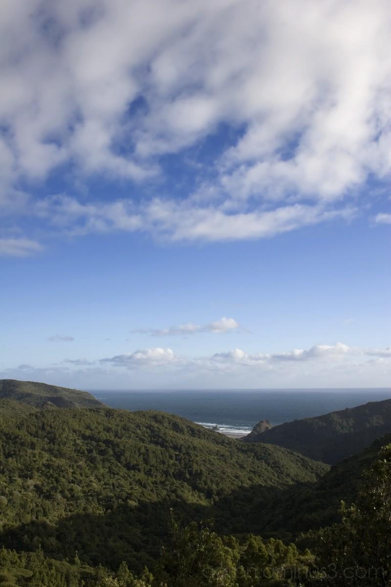 Sky over the Waitakere