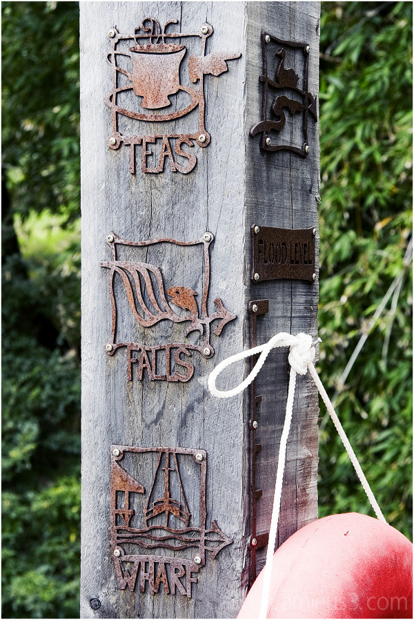 Teas Falls Wharf