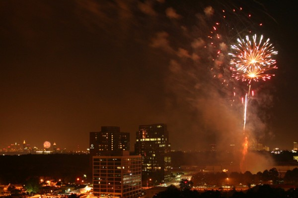 Independence Day over Atlanta