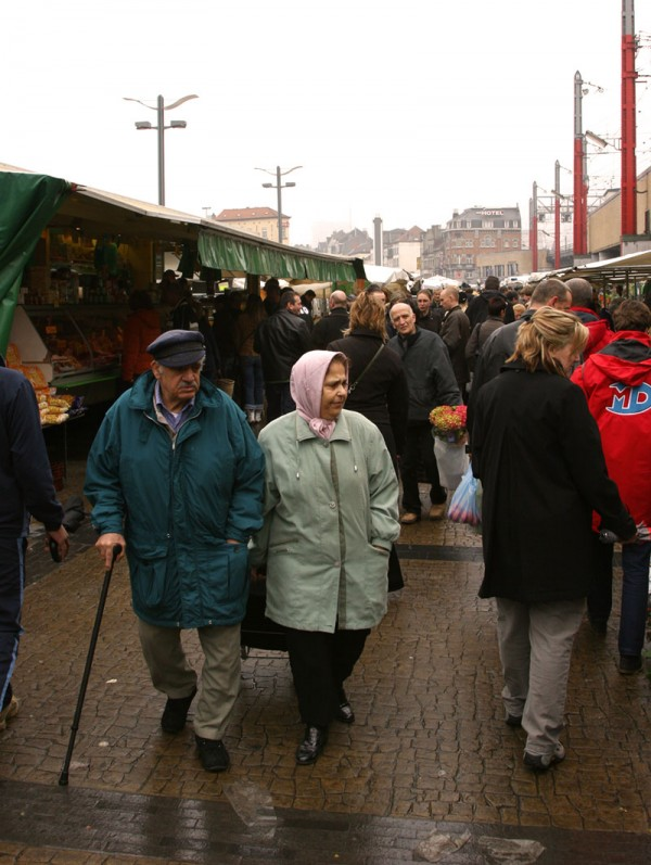 Leslie at the Midi Market