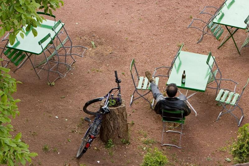 relax bike beer