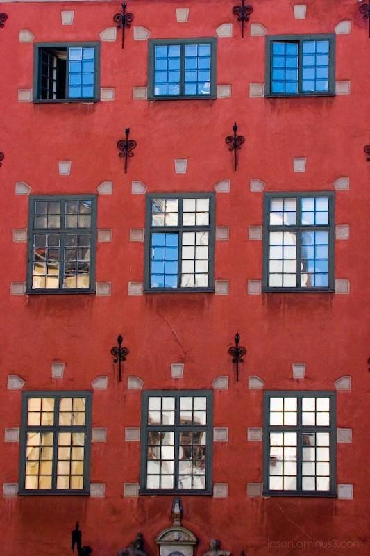 Red Swedish Building