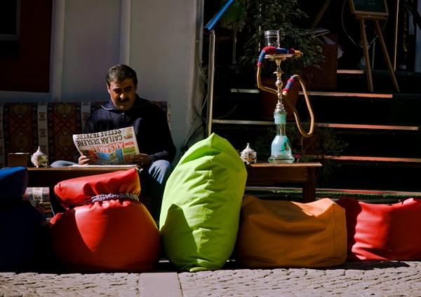 Istanbul Man Narghile