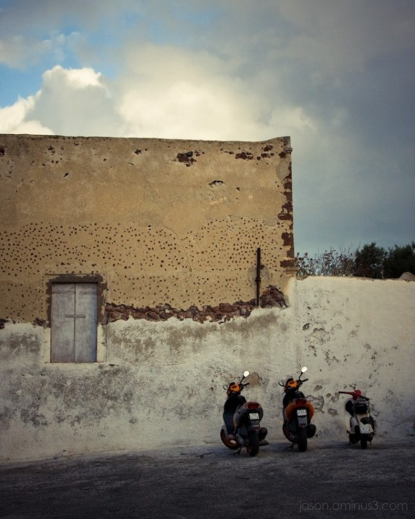 Santorini cycles