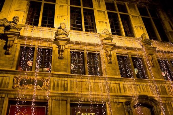 Christmas Brasserie Brussels Cafe