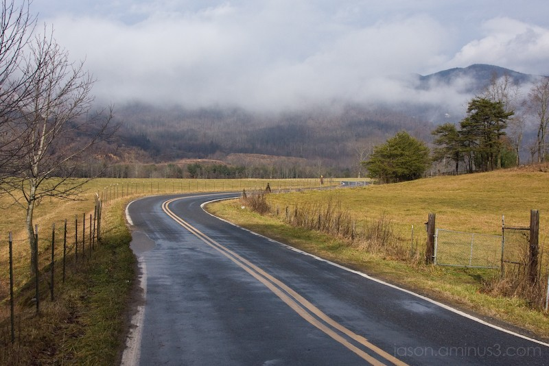 country road black mountain north carolina