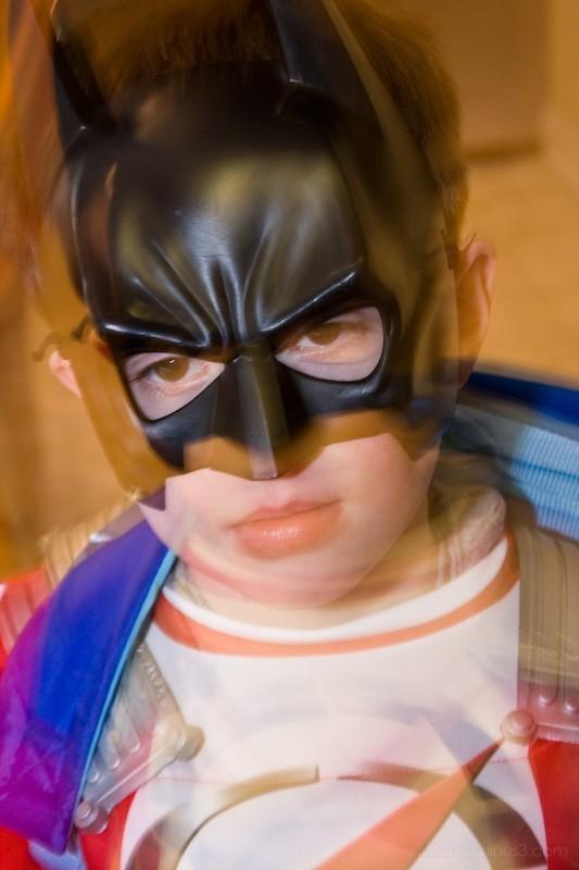 little blurry batman