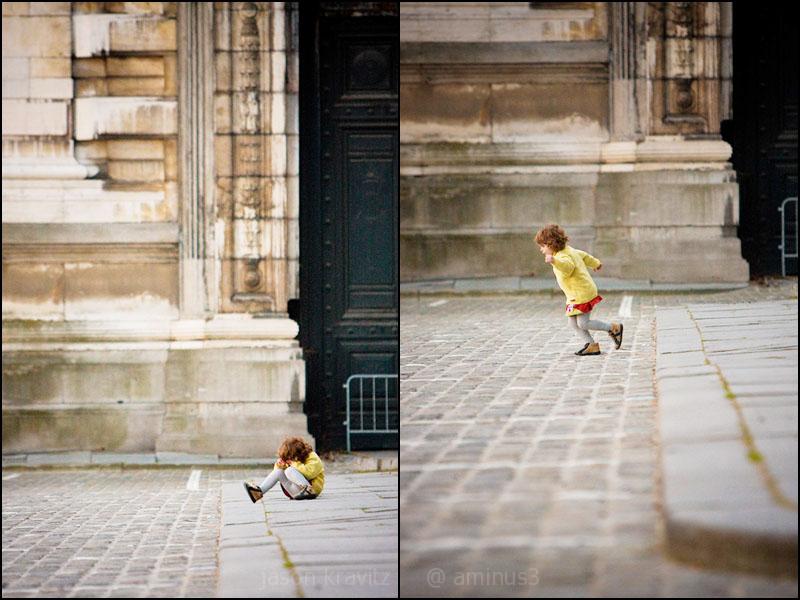 Child Brussels Palais du Justice