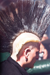punk rock mohawk