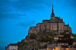 Mont St Michel Morning