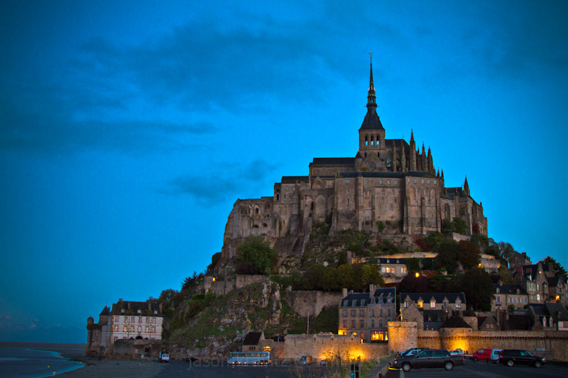 Mont Saint Michel morning
