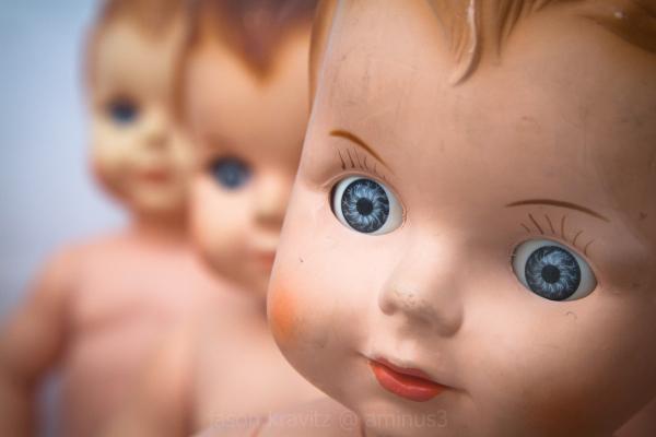 baby doll eyes