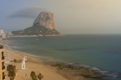 calpe beach