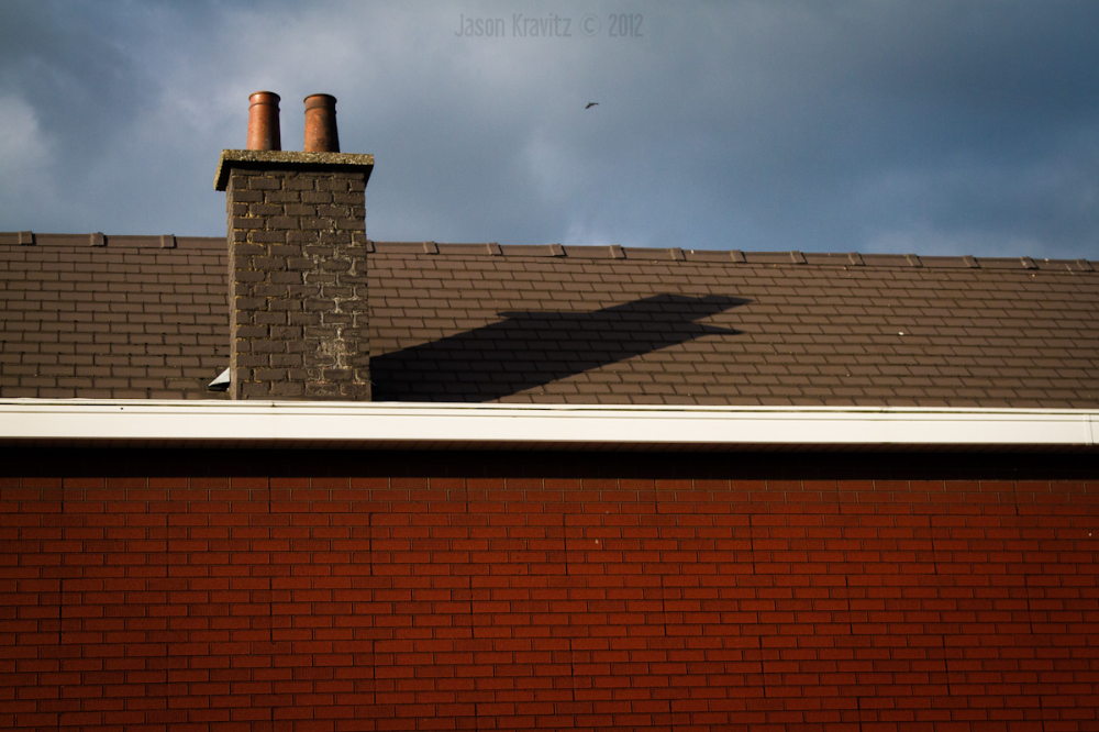 red brick and chimney