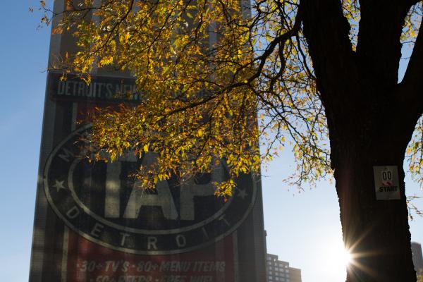 autumn in Detroit