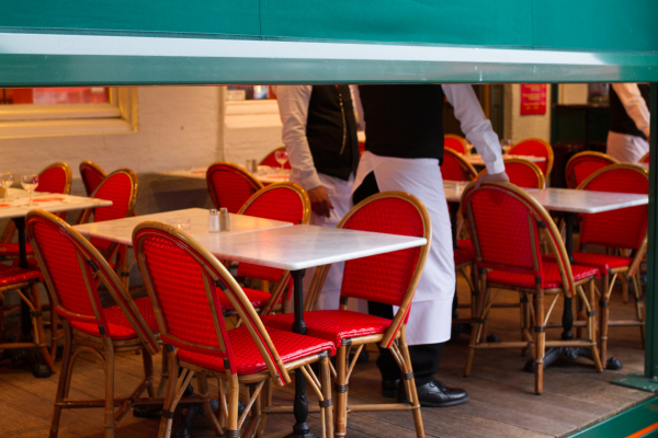 waiter confab