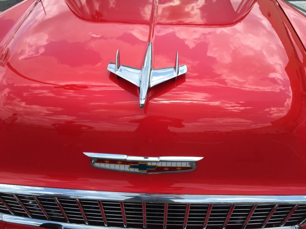 red 57 Chevrolet