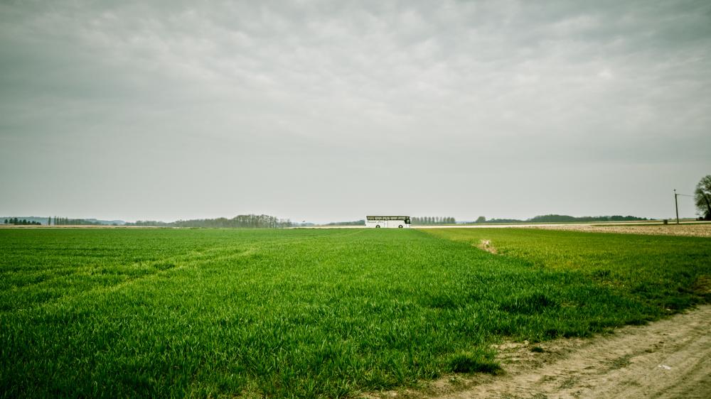 bus fields Belgium