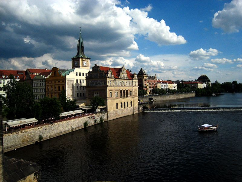 Praha before the rain