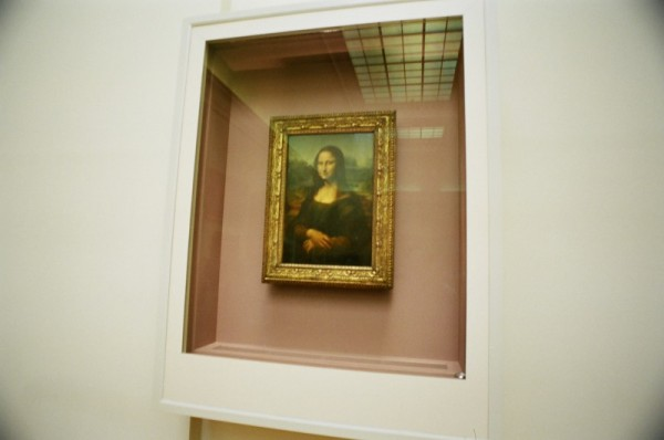 A better view of Mona Lisa