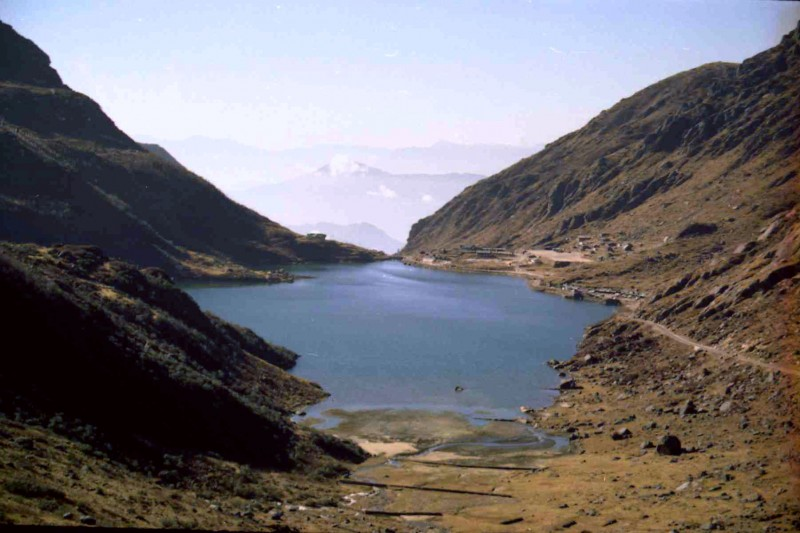 The Changu lake!