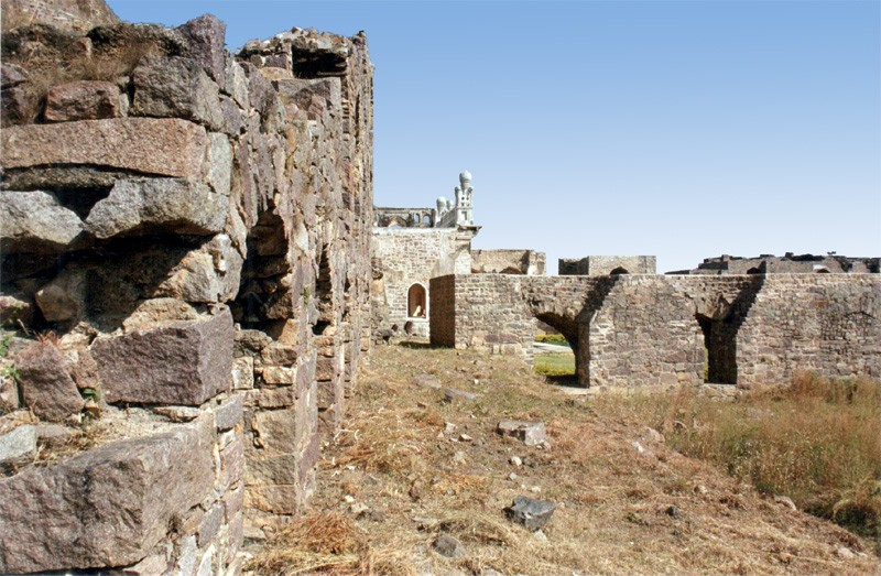 Ruins at Golconda