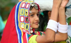 Girl at the Secunderabad Carnival
