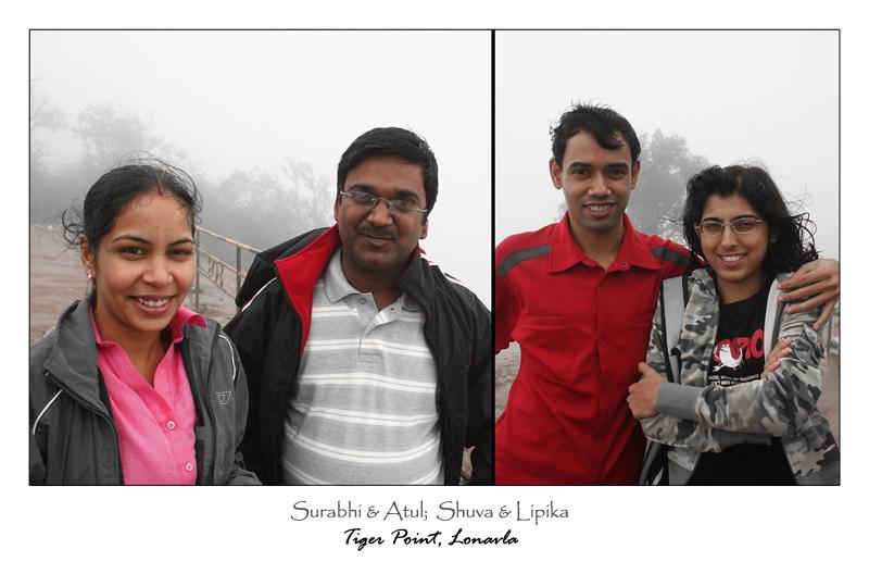 Surbhi and Atul Pathak, Shuva and Lipika.