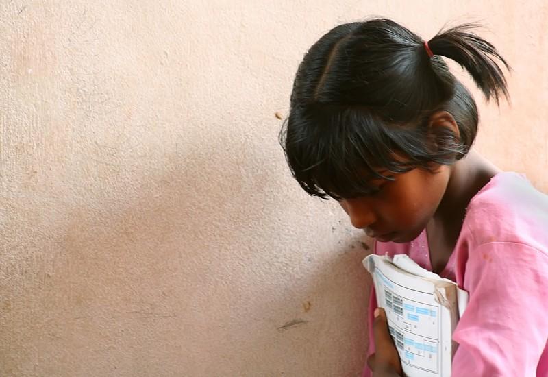 Children books school poor study India