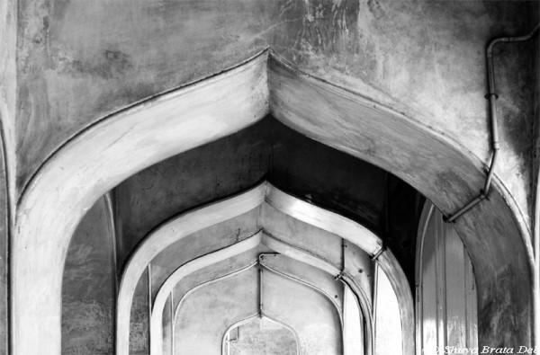 Archs inside Charminar