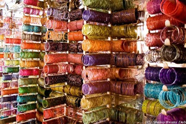 Bangles at Chori Bazaar