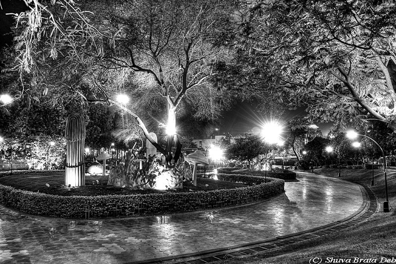 NTR Park at night - I