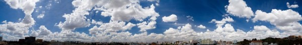 From my terrace on one fine day