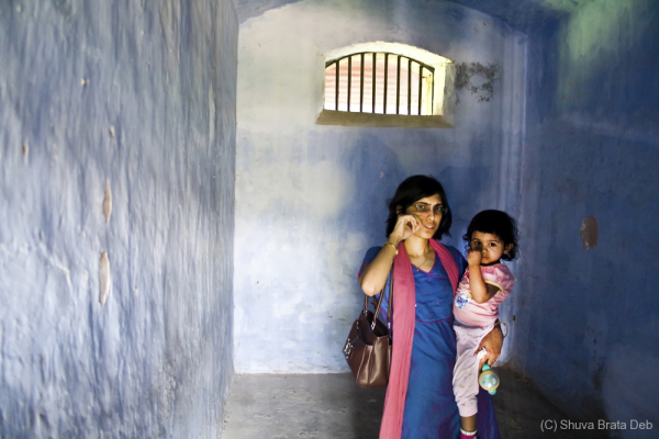 Inside a cell, Cellular Jail, Andaman