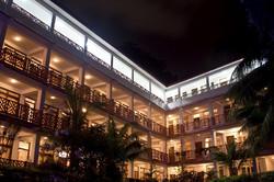 Hotel Sentinel at night