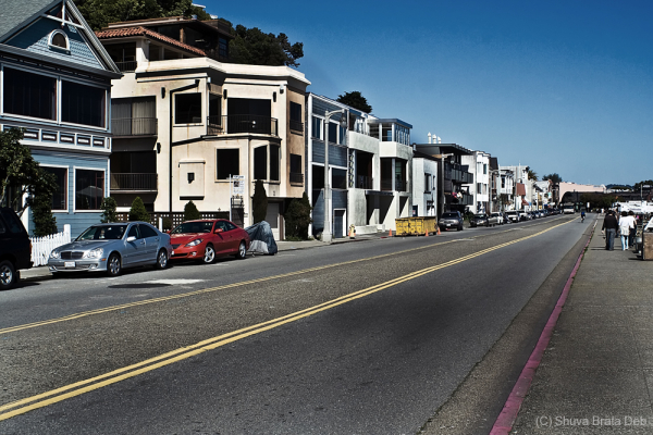 Street at Sausalito