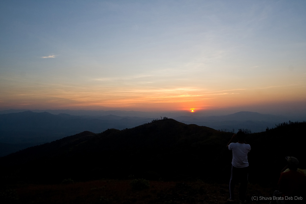 Sunset at Western ghats