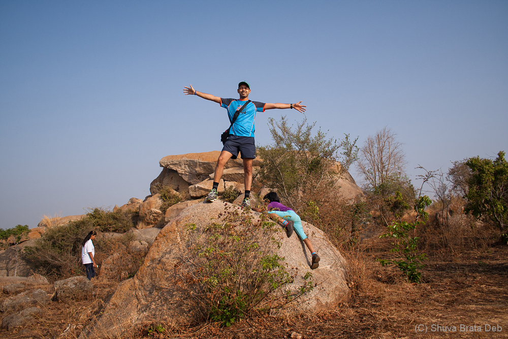 Hike at Turahalli forest