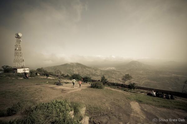 Nandi hills top.