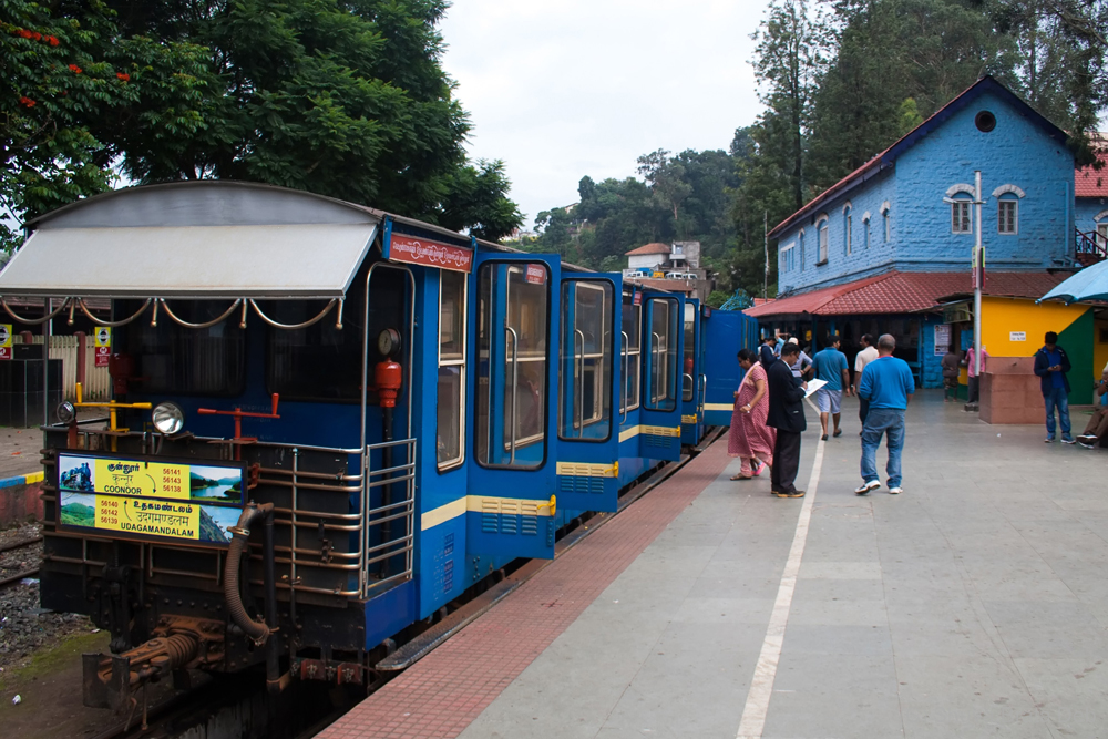 Mountain train of Coonoor