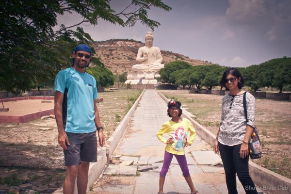 Buddha Statue at Belum