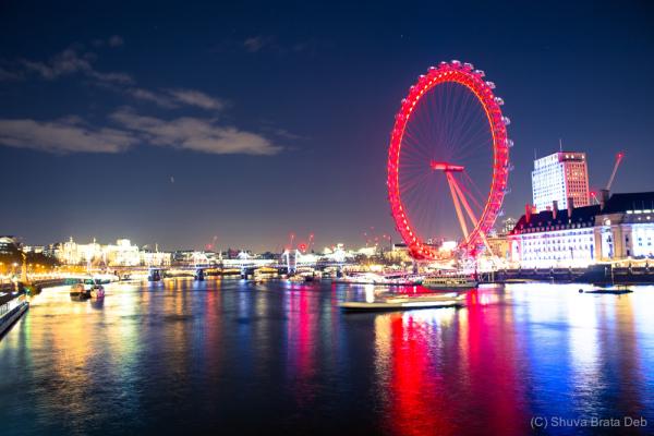 London at night, I